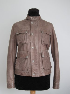 Belstaff Leather Jacket multicolored