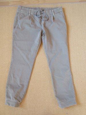 Deyk Sweat Pants grey brown cotton