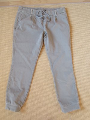 Deyk Pantalone fitness marrone-grigio Cotone