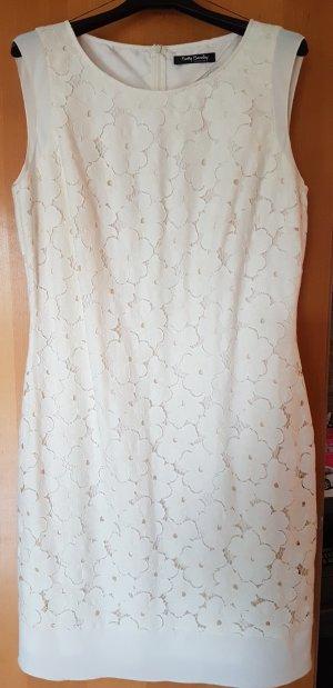 elegante Blütenspitze allover#gefüttert#Betty Barcley Kleid#NEU# D 42