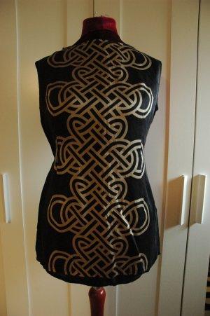 Elegante Bluse aus Seide GR 46