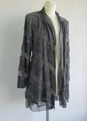 Made in Italy Long Sleeve Blouse grey