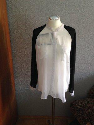 elegante Bluse durchsichtig
