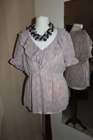 Elegante Bluse in rosé