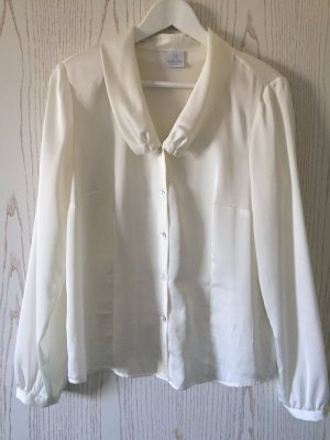Elegante Bluse in weiß