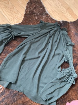 Elegante Bluse mit leichten Puff-Ärmeln