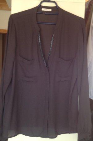 Elegante Bluse mit V- Ausschnitt