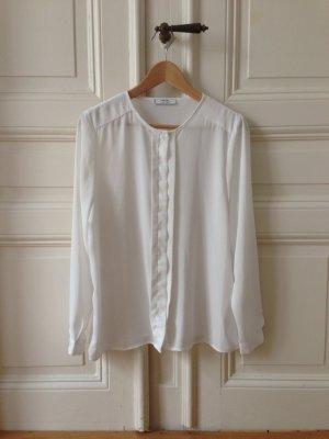Elegante Bluse mit verdeckter Knopfleiste