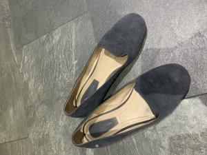 Marc O'Polo Mocassino grigio ardesia-blu scuro