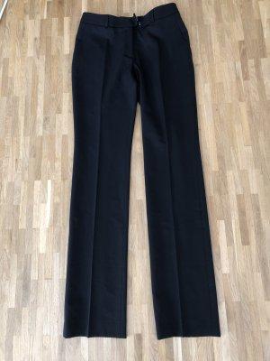 Wolford Pantalon à pinces noir tissu mixte
