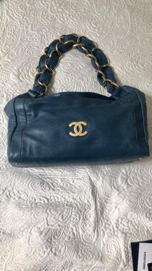 Chanel Borsetta blu cadetto-petrolio