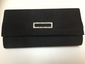 Elegante Clutch in schwarz