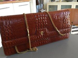 elegante Clutch von Pierre Cardin echtes Leder
