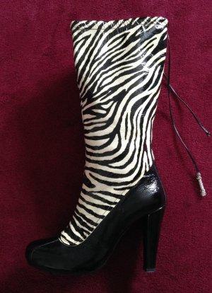 Elegante Damen Stiefel von Gianfranco Ferré in der Gr. 39-40 / GANZ NEU!!!