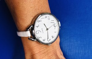Self-Winding Watch white-silver-colored