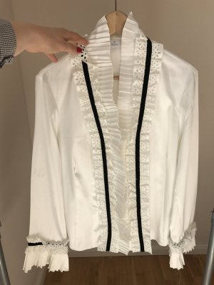 ae elegance Blouse white-black