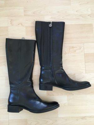 Geox Jackboots black leather