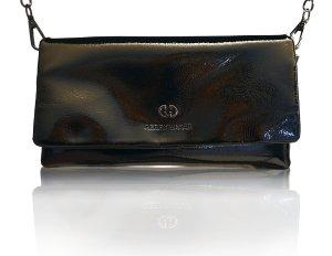 Elegante GERRY WEBER Clutch aus schwarzem Lackleder