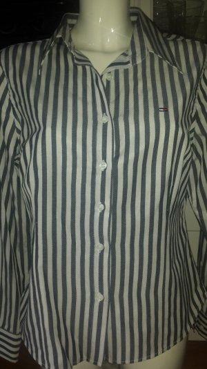 elegante gestreifte Hemdbluse von Tommy Hilfiger