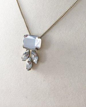 Accessorize Necklace white-gold-colored metal