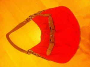 Elegante Handtasche von L'Credi in Rot