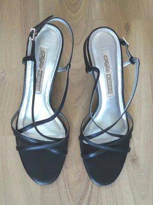 Elegante High Heels / Sandaletten Leder