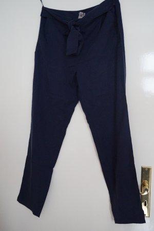 Best Connections Pantalon en jersey bleu foncé