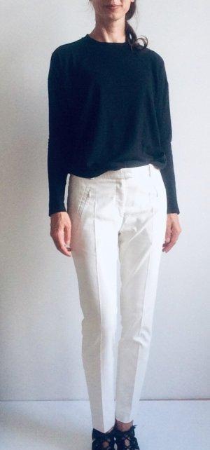 Hugo Boss Pantalón elástico blanco-blanco puro
