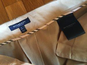 Burberry London Pantalone a vita bassa sabbia Cotone