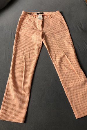 Weekend Max Mara 7/8 Length Trousers white-pink cotton