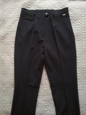 Steilmann Pantalone a pieghe blu scuro Tessuto misto