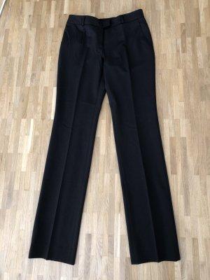 Wolford Pantalon à pinces brun foncé tissu mixte