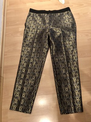 Zara Woman Pantalon taille basse multicolore