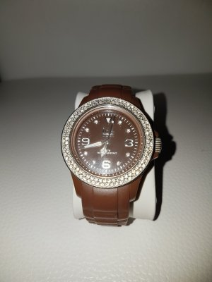 Elegante Ice Watch mit Glitzersteinen