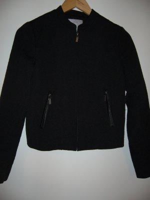 Elegante Indoor-/Outdoorjacke schwarz mit Struktur H&M XS 34