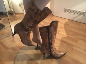 Latitude femme Heel Boots camel leather