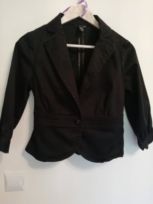 H&M Veste courte noir