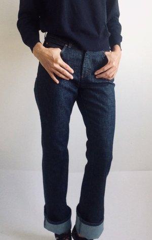 Joop! Hoge taille jeans donkerblauw