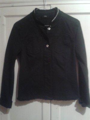 s.Oliver Denim Jacket black