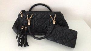 Elegante, jedoch geräumige Damenhandtasche BEBE Handtasche plus Geldbörse