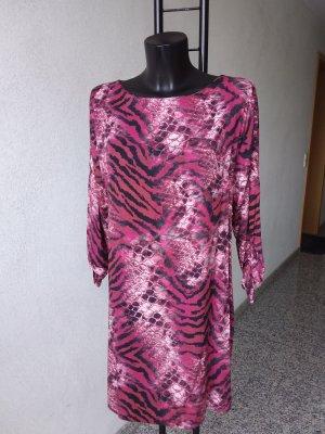 Elegante Kleid mit Rücken V-Auschnit