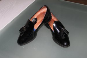 High - Everday Couture by Claire Campbell Slippers black leather