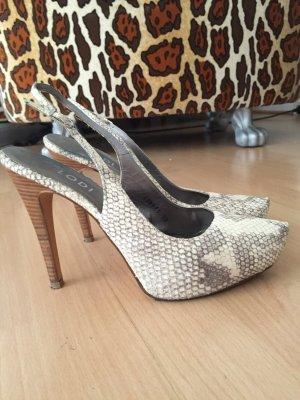 Elegante Leder High Heels*37*