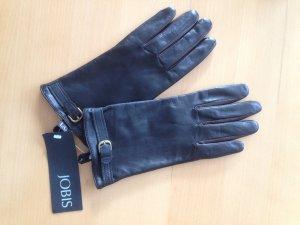 Jobis Leren handschoenen zwart