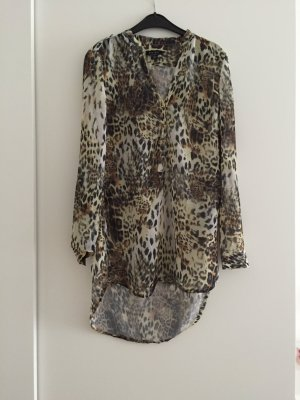 Elegante Leoparden Bluse