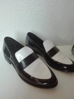 Mango Touch Slippers white-black