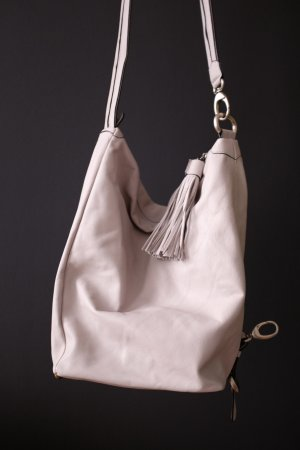 Lupo Backpack silver-colored-light grey leather