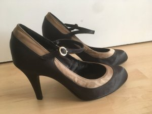 H&M Mary Jane Pumps black-gold-colored