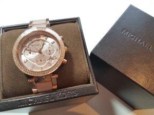 elegante Michael Kors Uhr mit Metallgliedern