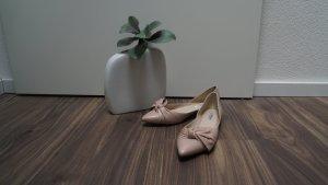 Elegante nude Schuhe für jede Hochzeit geeignet Gr. 39,5